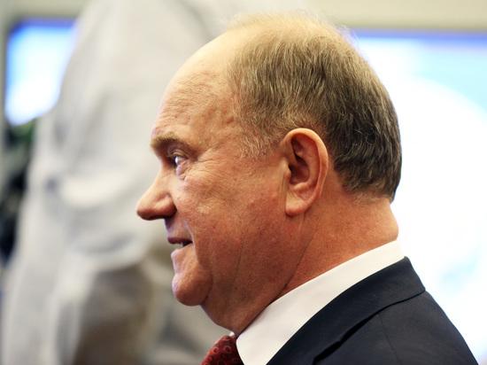 Зюганов прокомментировал слухи о своем неучастии в президентской гонке