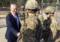 Министр обороны Соединённых Штатов Джеймс Мэттис посетил с предновогодним рабочим визитом базу 82-й воздушно-десантной дивизии, дислоцированной в Северной Каролине, и обратился к американским военным с призывом быть готовыми к войне