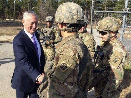 Глава Пентагона призвал американских солдат готовиться к войне