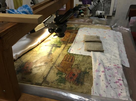 Кто с мечом: Псковскому музею приказали аттестовать реставраторов «Святой Ульяны»