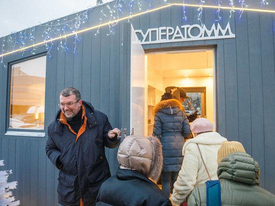 Рустаму Минниханову понравился первый российский «карманный дом»