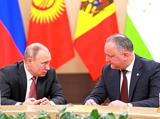 Игорь Додон: «Отношения между Россией и Молдовой успешно движутся вперёд»