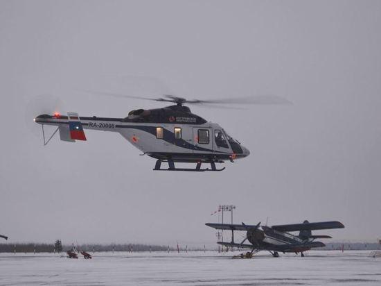 На службу в Костромскую санавиацию поступил еще один вертолет