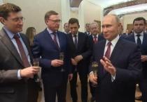 Путин провел с омским губернатором Бурковым необычную встречу