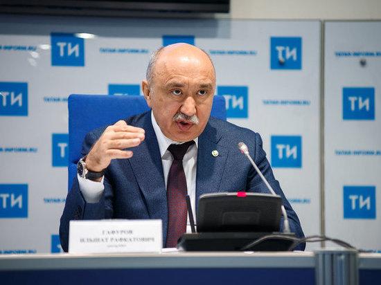 Ильшат Гафуров: «Зарплата преподавателей КФУ выросла до 201% средней зарплаты по Татарстану»
