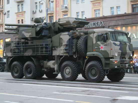 Российские средства ПВО уничтожили, как минимум, два снаряда джихадистов