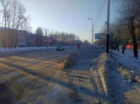 После исков к администрации дороги в Хабаровске стали чистить лучше