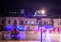 В центре Омска открылся бесплатный каток