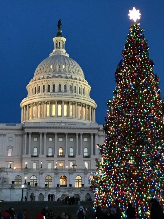 В США идет гражданская война за Рождество