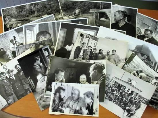 В Вологодской области музей обрел памятные фотографии со съемок фильма