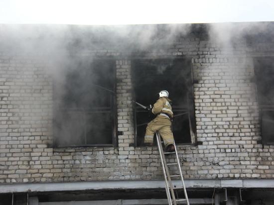Пожар произошел на территории завода «Оргсинтез» в Нижнем Новгороде