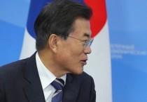 Южнокорейский президент Мун готов встретиться с Ким Чен Ыном
