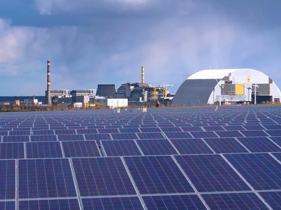 Первую на Украине солнечную электростанцию запустят в Чернобыле