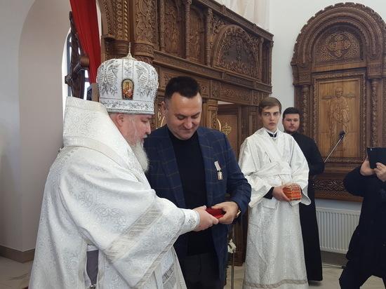 В храме микрорайона «Гармония» Михайловска прошла первая божественная литургия