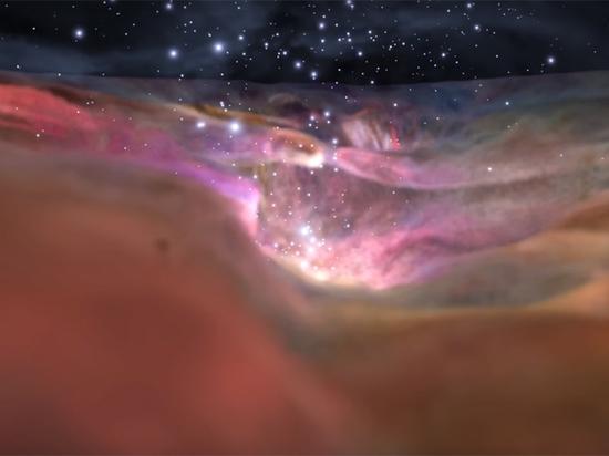 Зрители могут путешествовать на расстояние 1344 световых года от Земли