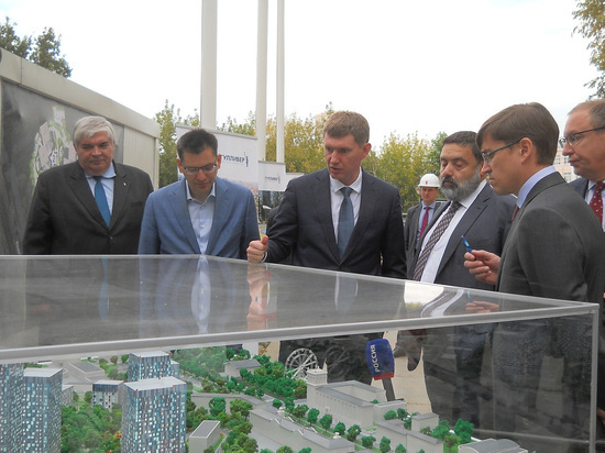 «КОРТРОС-Пермь» передал городу земельный участок для расширения гимназии №17