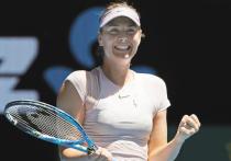 Мария Шарапова получила в Австралии солнечный удар