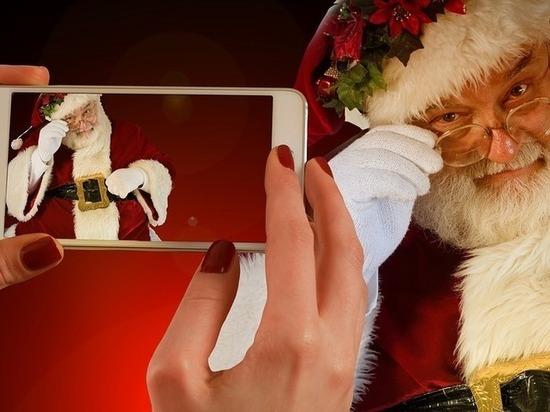 В новогоднюю ночь москвичи поздравляли не словами, а картинками