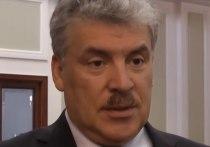 Возглавляющий информационный холдинг NewsMedia Арам Габрелянов заявил, что докажет: кандидат в президенты от КПРФ Павел Грудинин — «обычный ворюга»
