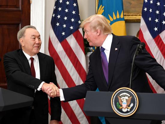 Назарбаев: Трамп предложил перенести переговоры по Донбассу из Минска