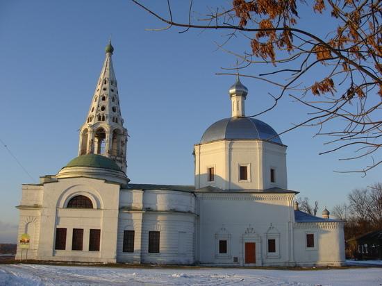В историческом центре Серпухова полным ходом идут реставрационные работы