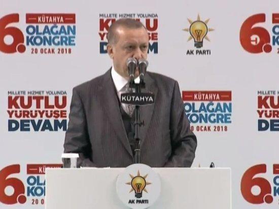 Эрдоган объявил о начале наземной операции в Африне