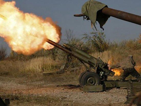 Артиллерийский удар ополченцев по штабу