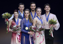 На домашнем чемпионате Европы в Москве наши фигуристы уступили соперникам только три медали