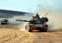 «Оливковая ветвь» Эрдогана: турецкие танки вошли в сирийский Африн