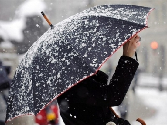 Синоптики прогнозируют снег и ветер на Кубани