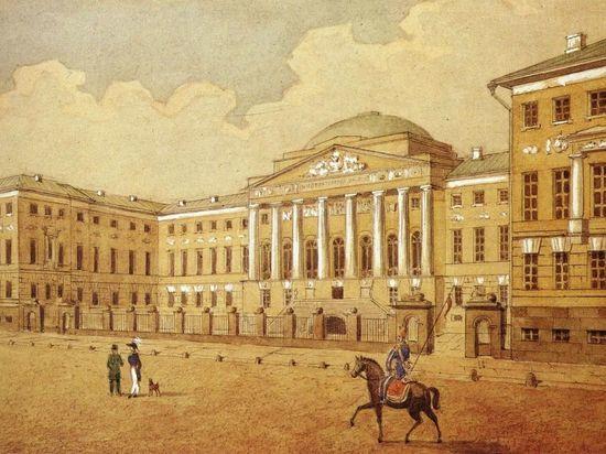 В этот день был основан МГУ им. М.В. Ломоносова