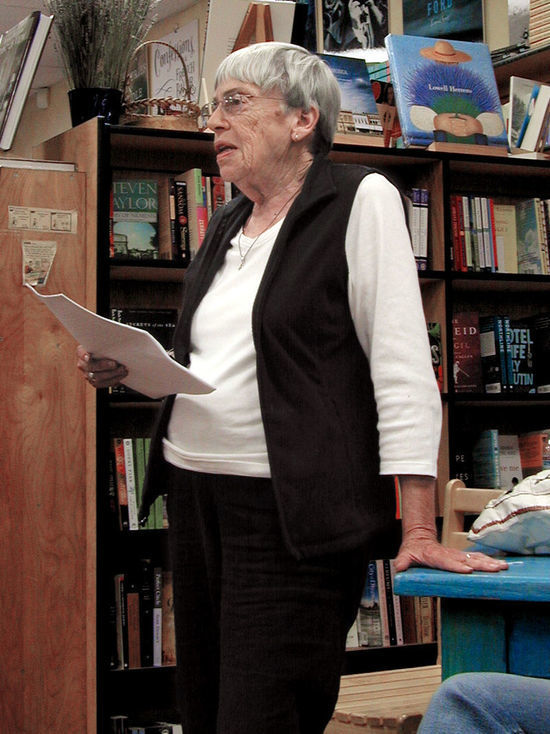 Скончалась крупнейший американский фантаст Урсула Ле Гуин