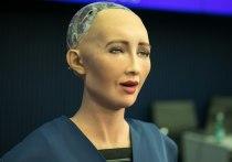 Робот Софи рассказала Герману Грефу о вреде фильма