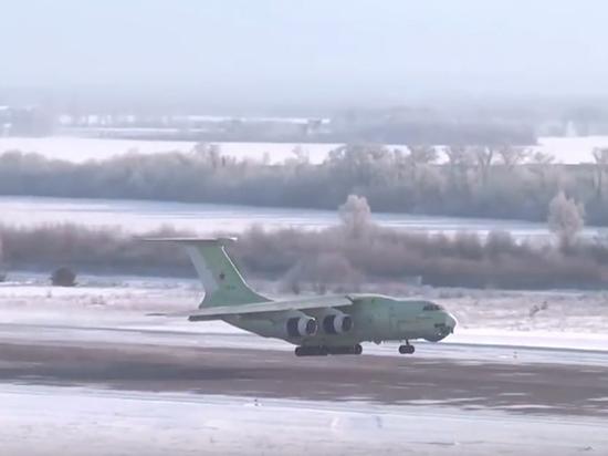 Новейший воздушный танкер Ил-78М-90А совершил первый полет