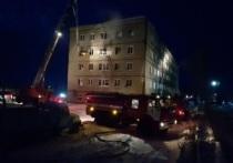 Виновник пожара в общежитии под Омском оказался нелегалом