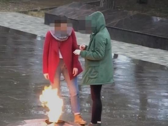 Краснодарские школьницы, оплевавшие Вечный огонь, отделаются штрафом