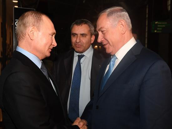 Премьер-министр Биньямин Нетаниягу встретился с президентом России Владимиром Путиным