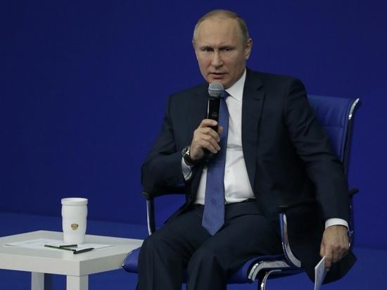 Путин выразил обиду на «кремлевский список» США двумя словами
