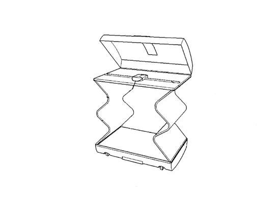 Особенность аксессуара — надувные стенки