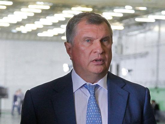 Игорь Сечин: «Санкции в отношении «Роснефти» - незаконны»