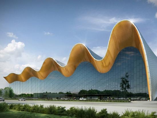 В Москве построят здание в виде гимнастической ленты