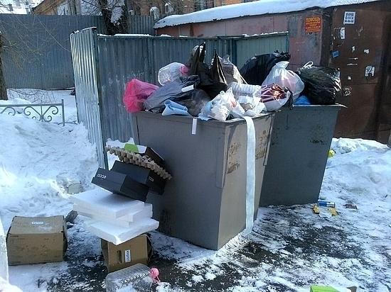 В Хабаровске наблюдаются проблемы с вывозом бытового мусора