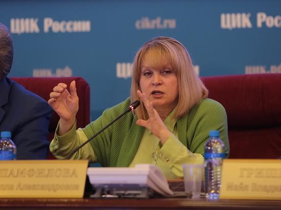 Памфилова назвала «мелкой пакостью» призыв Навального не ходить на выборы