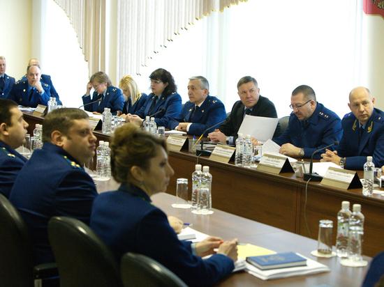 В Вологде подвели итоги деятельности органов за 2017 год