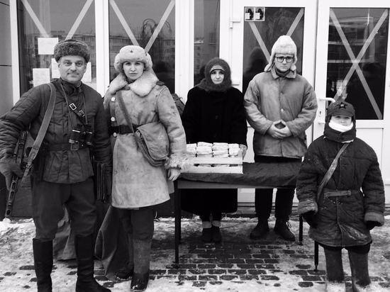 Юные серпуховичи отметили годовщину полного снятия блокады
