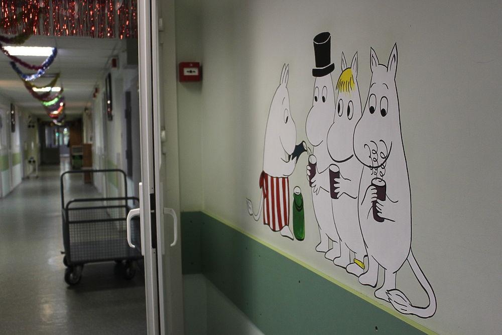 """Арт-проект """"МК"""": муми-тролли для ожогового отделения детской больницы"""