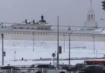 Полиция отказалась заводить дело на топтунов, написавших слово «Воры» у Казанского кремля