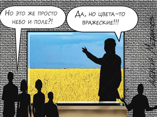 Гуманитарная война Украины и России