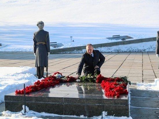 Владимир Путин: «Судьба всего мира решалась в Сталинграде»