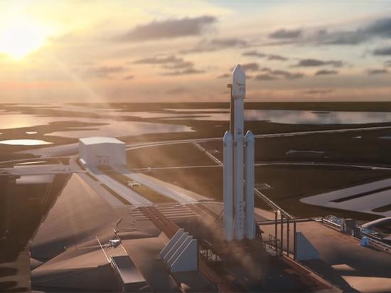 Илон Маск представил видеоролик о Falcon Heavy, способный озадачить инопланетян